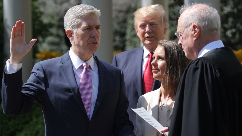 INSIGHT: Gorsuch sworn in as Supreme Court justice