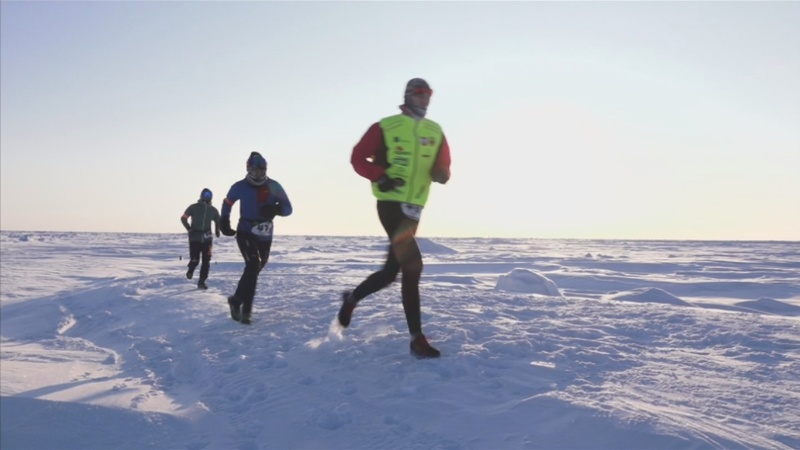 INSIGHT: Polish runner wins the world's coolest race