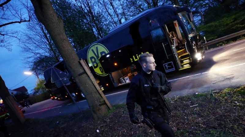 One suspect arrested in Dortmund bus attack