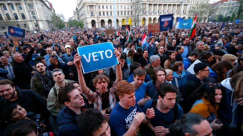 George Soros university under threat in Hungary