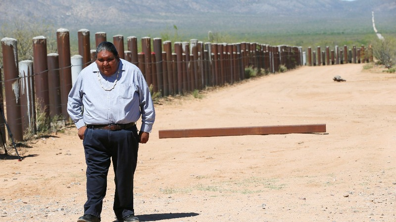 Native Americans fear for their culture as Trump wall looms