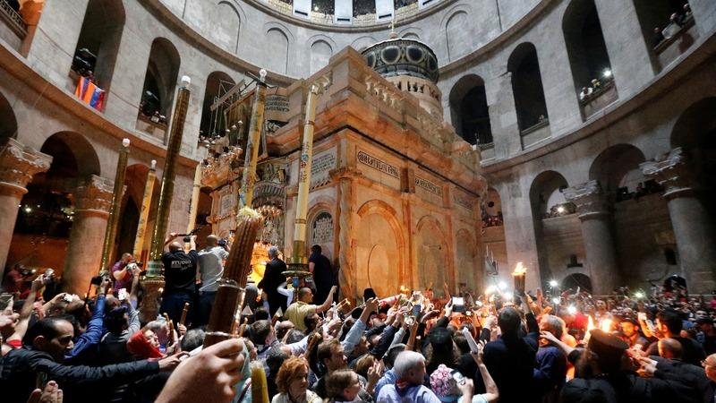 INSIGHT: Holy Fire ceremony takes place in Jerusalem