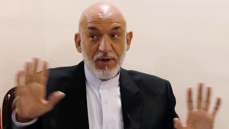 VERBATIM: Karzai slams Trump for using massive bomb in Afghanistan