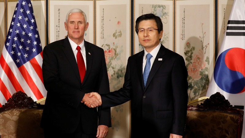 INSIGHT: Pence meets South Korea's acting President