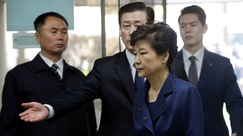 South Korea indicts ex-president Park