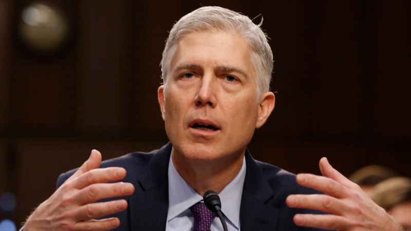 Gorsuch quick out of the gate on Day 1