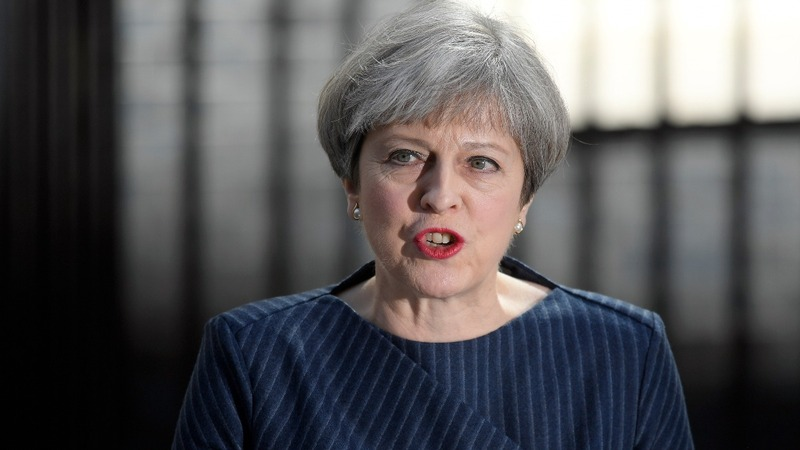 British prime minister calls for shock early election
