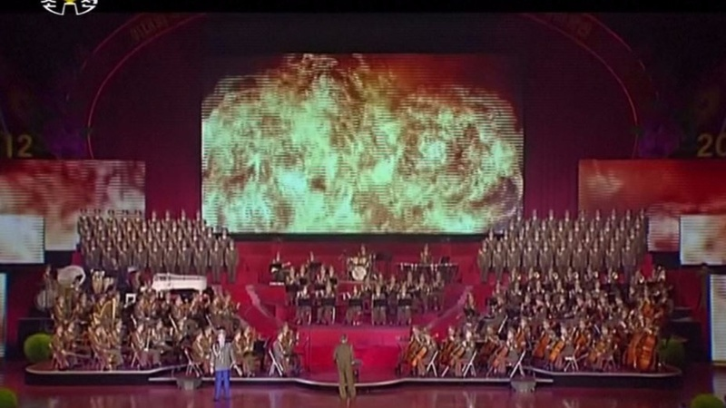 INSIGHT: N. Korean musical shows U.S. getting nuked