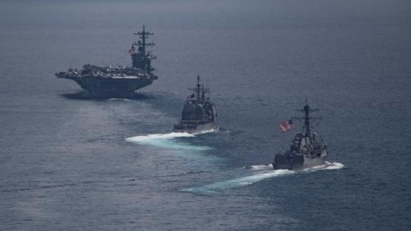 U.S. 'armada' was far from North Korea during tension