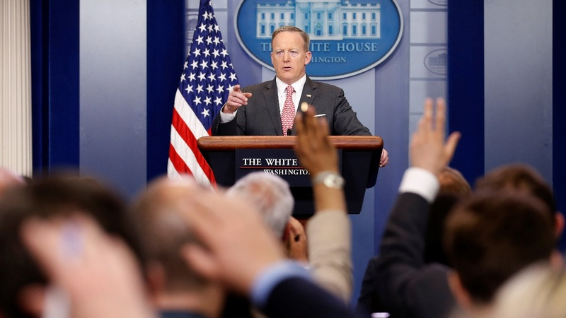 VERBATIM: Spicer under fire over Vinson snafu