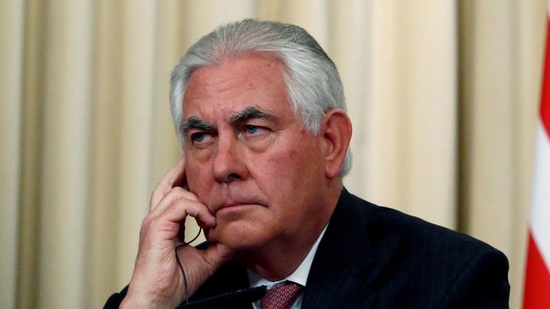 VERBATIM: Tillerson calls out Iran