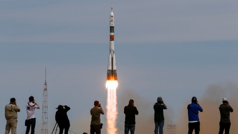 INSIGHT: Russian rocket launches for ISS