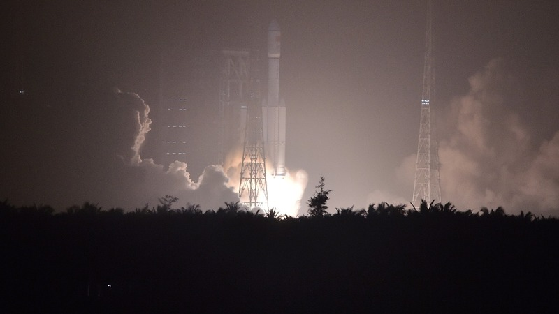 China's first cargo spacecraft rockets into orbit