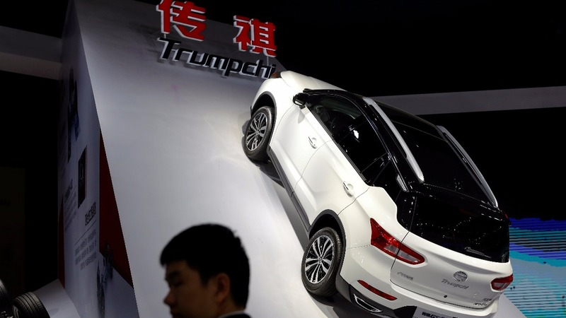 Chinese car brand 'Trumpchi' weighs a name change