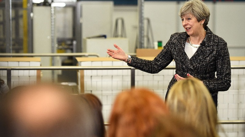 Election results not certain, says May.