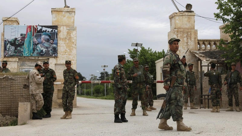 Afghan army base death toll at 140 - officials