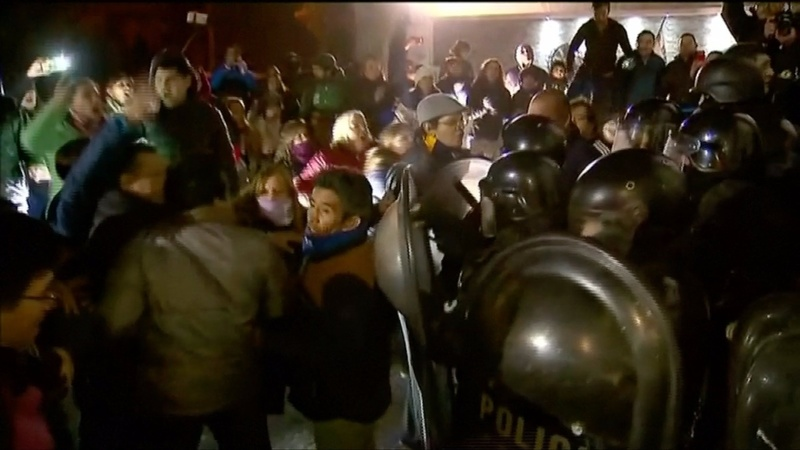 INSIGHT: Violent protest erupts in Argentina
