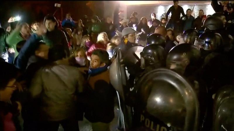 INSIGHT: Violent protest erupts in Argentina