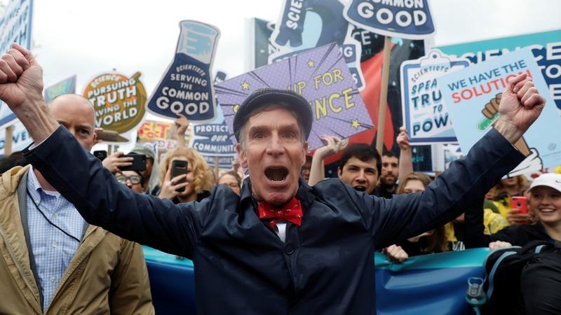 VERBATIM: 'We can save the world!'