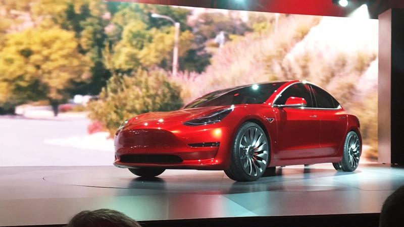 Tesla bets big on Model 3 production gamble