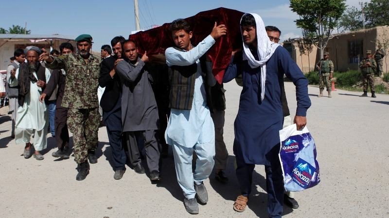 Mourning declared after Afghan base attack