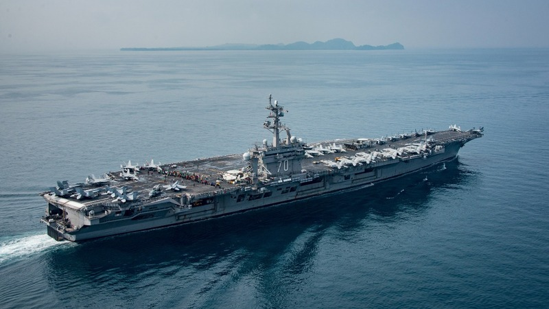 North Korea says ready to sink U.S. aircraft carrier
