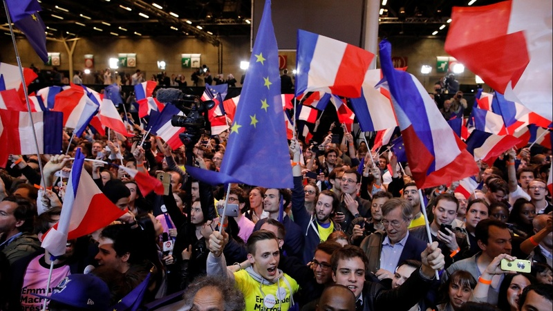 VERBATIM: Predicted final two for French presidency