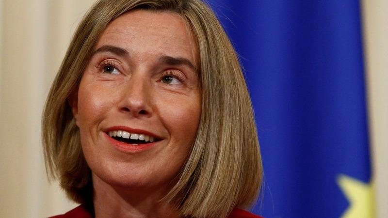 VERBATIM: Mogherini talks Macron's victory
