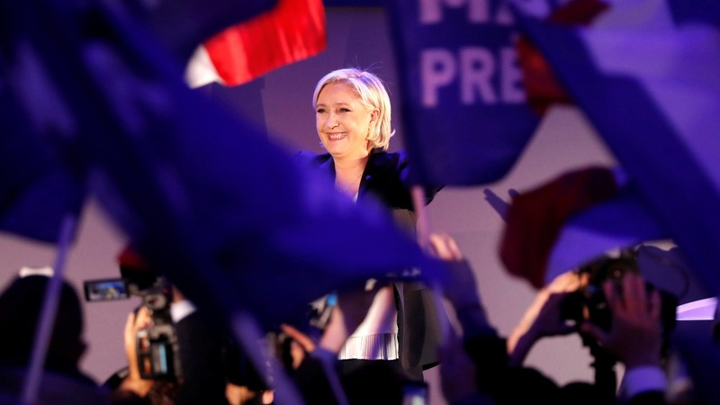"VERBATIM: Le Pen says Macron ""weak"" on terrorism"
