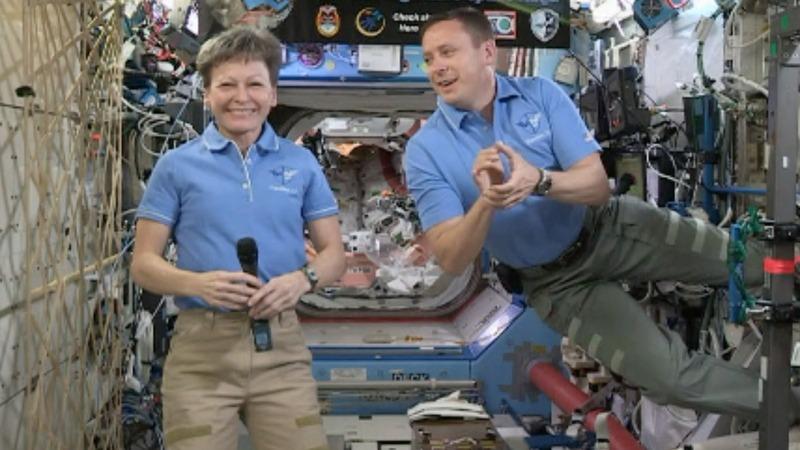 Trump calls space to congratulate NASA record-breaker