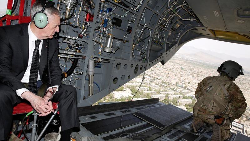 Mattis hits Afghanistan amid military shakeup