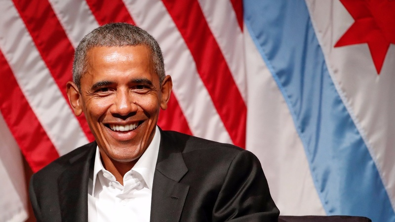 Obama re-emerges after post-White House chill out