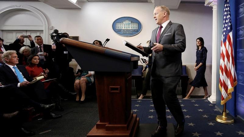 VERBATIM: Spicer hails Trump's first 100 days