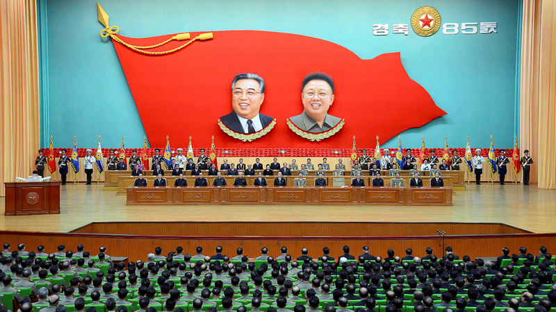 North Korea holds artillery drill as tension spikes