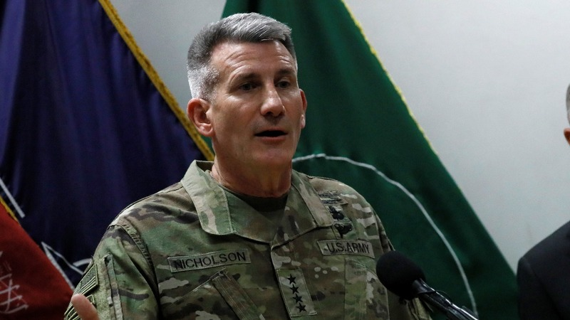 Russia sending arms to Taliban, U.S. general suggests