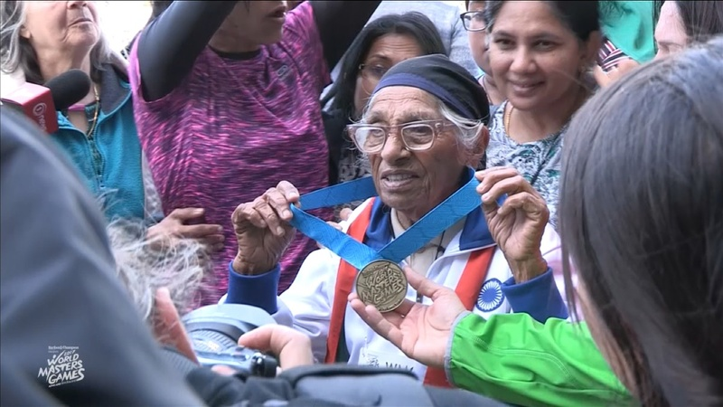 INSIGHT:101-year-old woman wins 100m gold