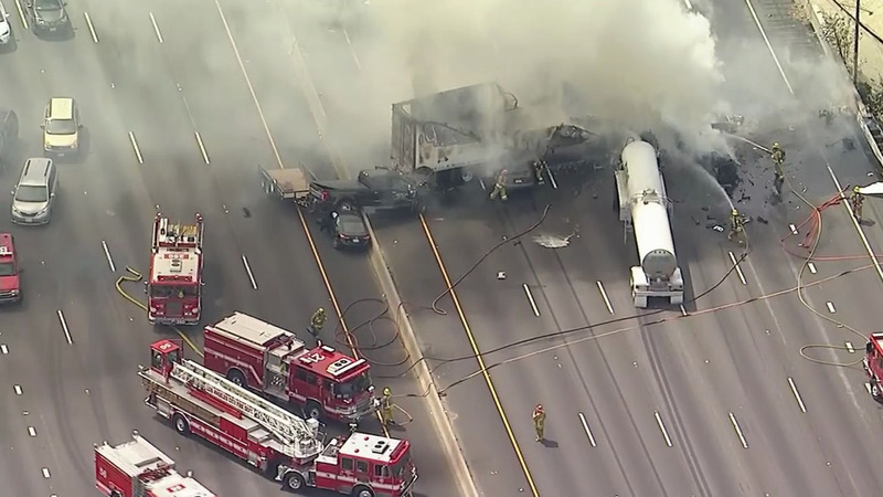 INSIGHT: One dead, 10 injured in fiery LA crash