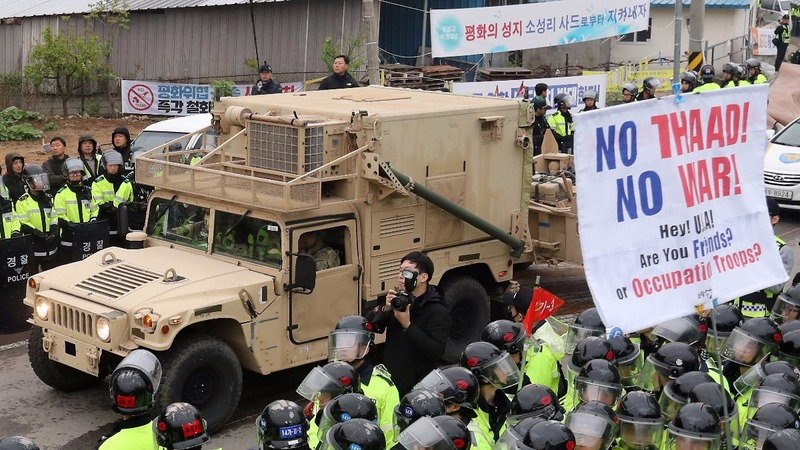 U.S. moves anti-missile system to South Korean site
