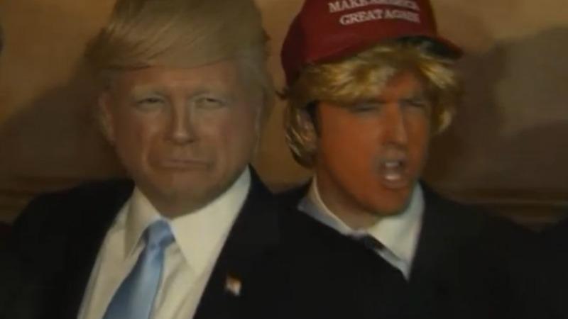 VERBATIM: Field of fake Trumps battle it out in LA