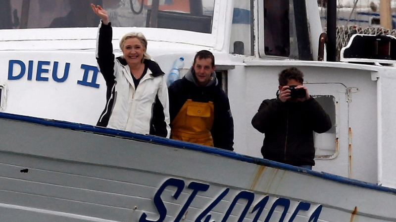 INSIGHT: Le Pen fishes for workers' votes