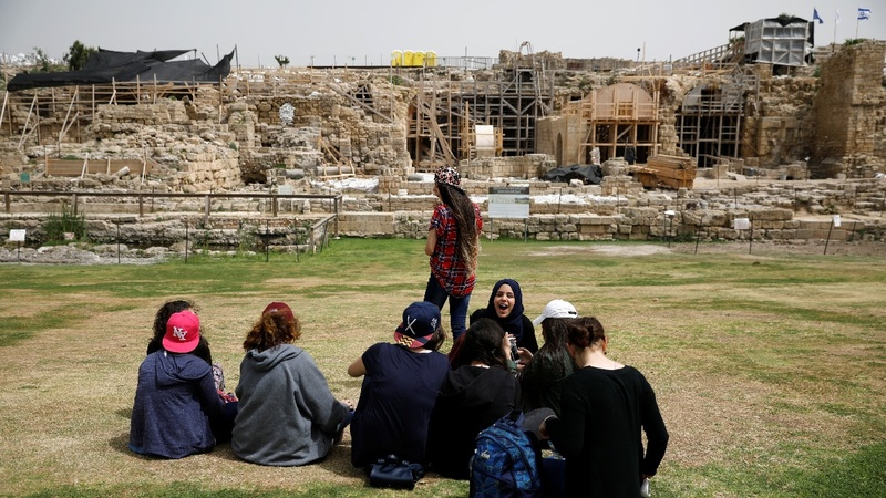 Ancient Roman port in Israel gets a facelift