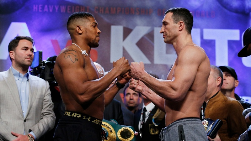 INSIGHT: Joshua and Klitschko weigh-in