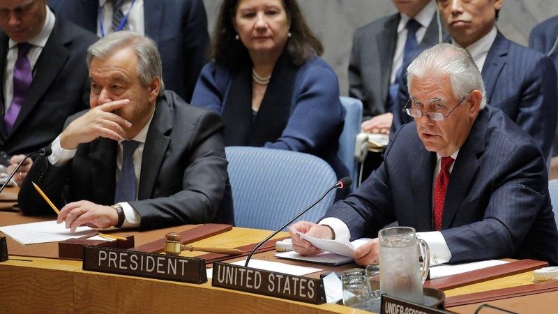 VERBATIM: U.S. says 'all options' ready for North Korea
