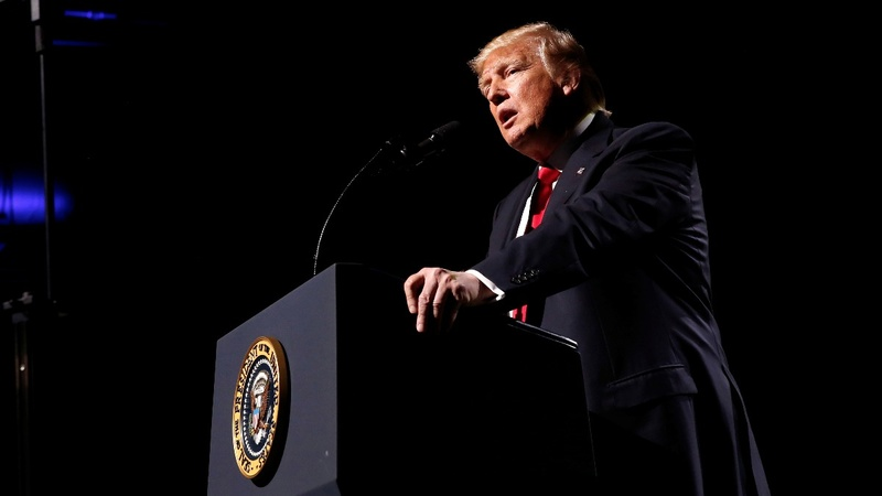 VERBATIM: Trump pledges fealty to NRA gun lobby