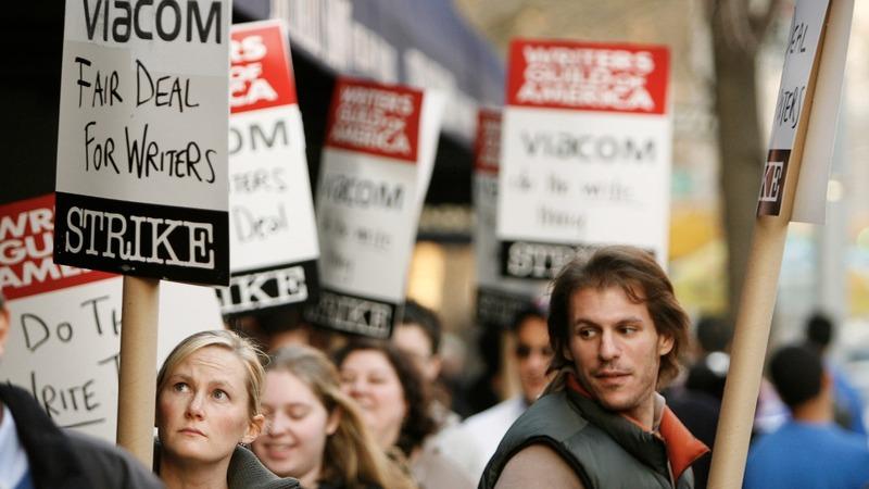Drama builds as TV, film writers plan potential strike