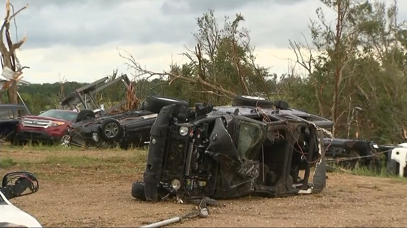 Tornadoes kill at least five people in Texas