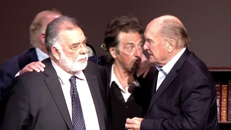 Cast of 'The Godfather' reunite for emotional 45th anniversary