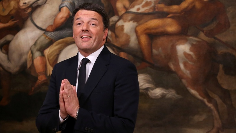 Italy's former PM Renzi regains party leadership