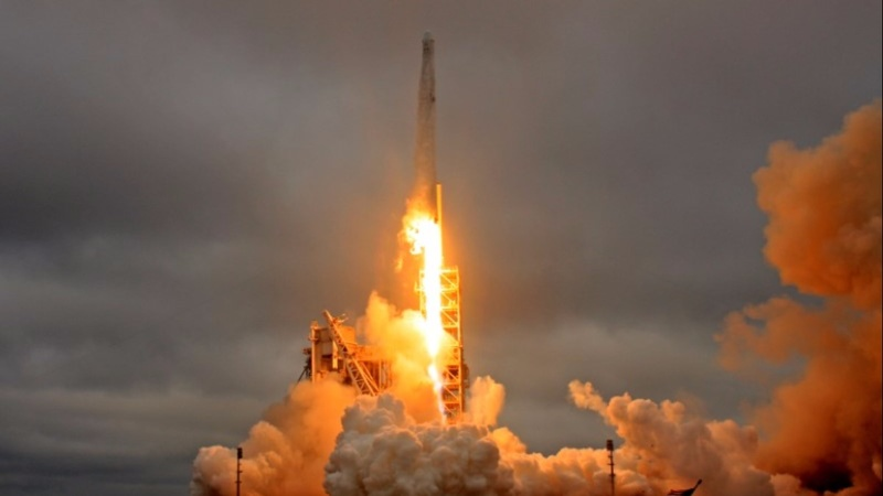 SpaceX launches Falcon 9 with top secret spy satellite