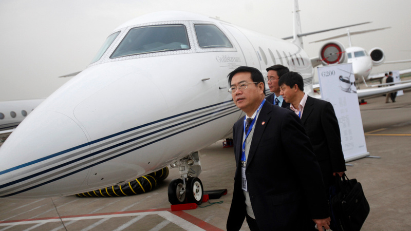 Refurbs and rental jets in vogue for China's elite